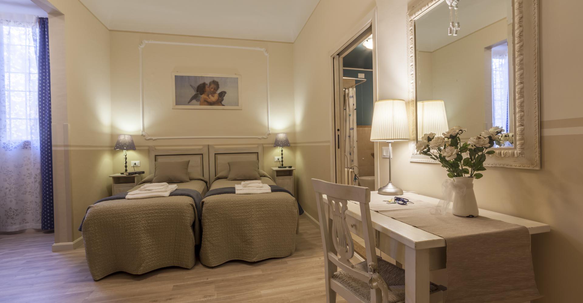 Bed and breakfast in florence soggiorno pezzati